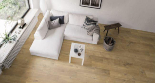 Laminatboden im Wohnbereich
